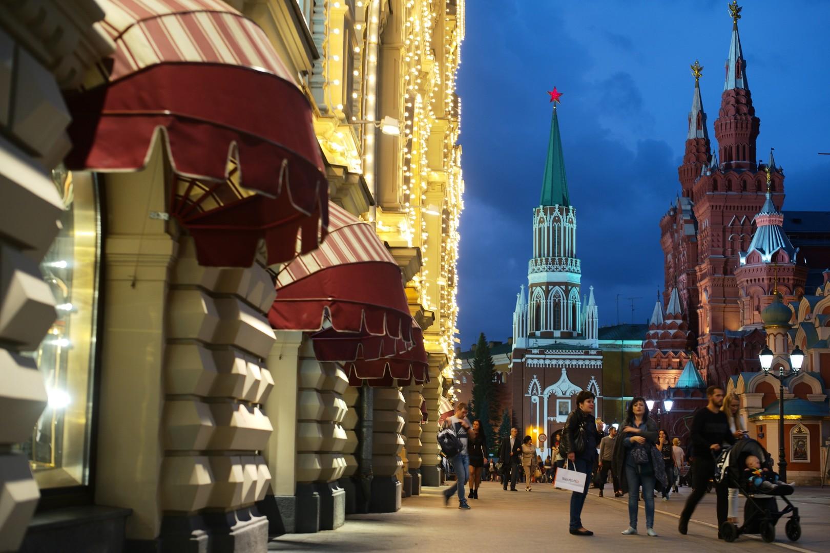 Неизвестный открыл стрельбу в центре Москвы