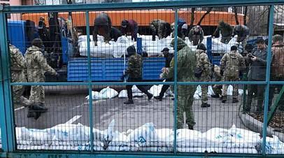 Заблокированный телеканал NewsOne в Киеве
