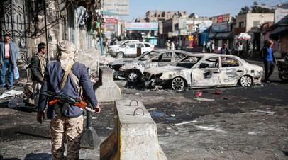 Последствия саудовской бомбардировки