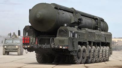 Пусковая установка 15У175М комплекса РС-24 «Ярс»