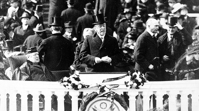 Инаугурация президента Вудро Вильсона