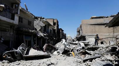 Разрушенный Старый город Мосула