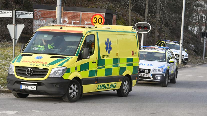 Скончался пострадавший при взрыве у метро в Стокгольме