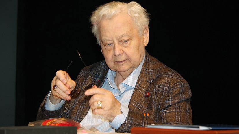 «Уникальная личность грандиозного масштаба»: в Москве скончался народный артист СССР Олег Табаков