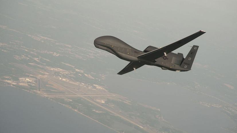 Незваные гости: самолёт и беспилотник ВМС США провели разведывательные полёты вблизи Крыма