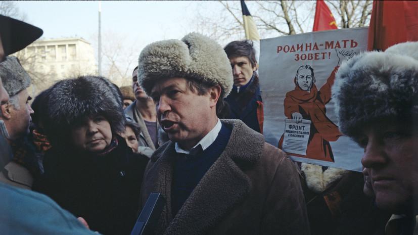 Обширный инсульт: в Москве умер лидер «Трудовой России» Виктор Анпилов