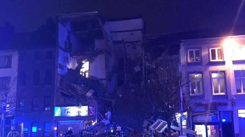 Под завалами обрушившихся после взрыва зданий в Антверпене могут оставаться до 20 человек