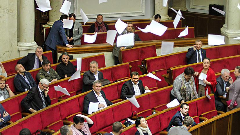 «Законодательный спам»: как депутаты Верховной рады стали европейскими лидерами по количеству инициатив