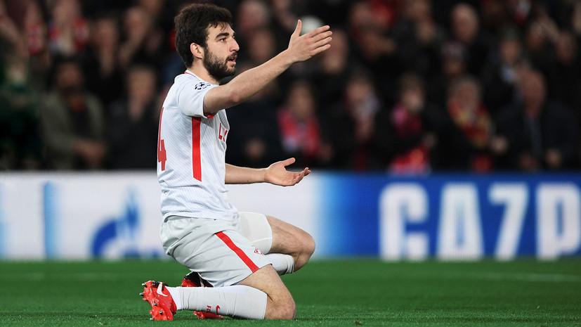 Защитник «Спартака» и сборной России Джикия может пропустить ЧМ из-за травмы колена