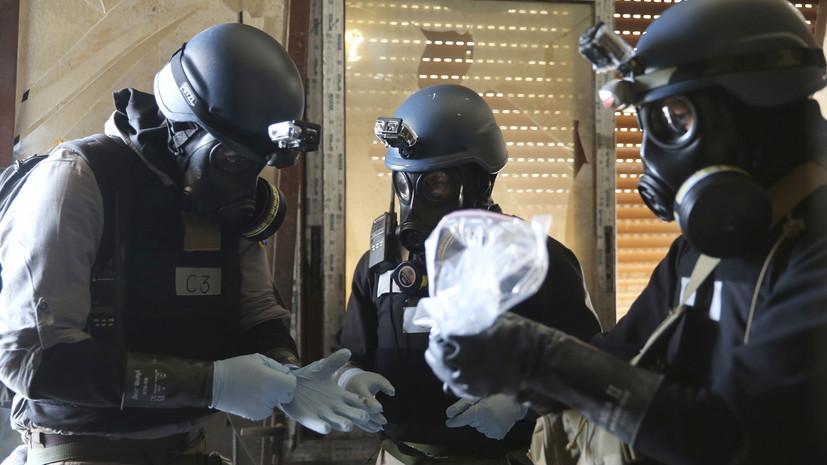 В России ответили на обвинения США в адрес Дамаска о применении химического оружия