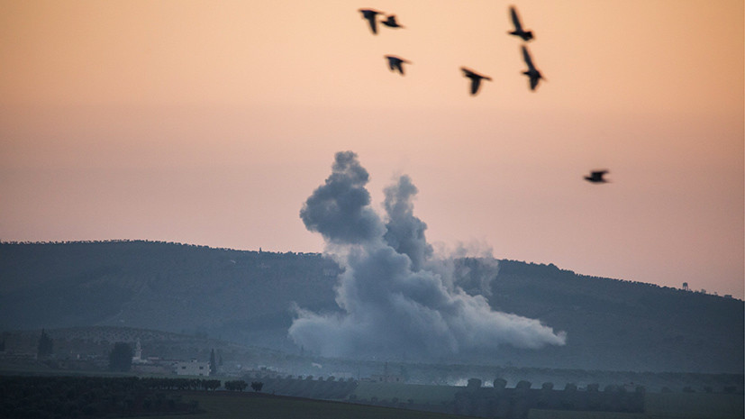 «Оливковое» наступление: курды сообщили о первых жертвах операции Турции в Сирии