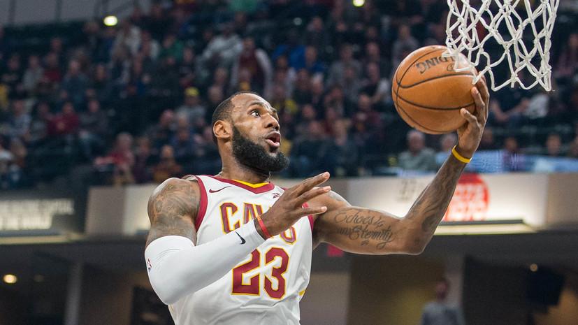 Леброн Джеймс стал самым молодым баскетболистом, набравшим 30 тысяч очков за карьеру в НБА