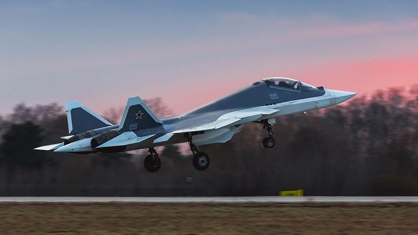 «Усилить позиции России в воздухе»: на что способен истребитель пятого поколения Су-57