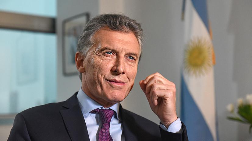 «Играть в футбол сложнее, чем управлять государством»: президент Аргентины — в интервью RT