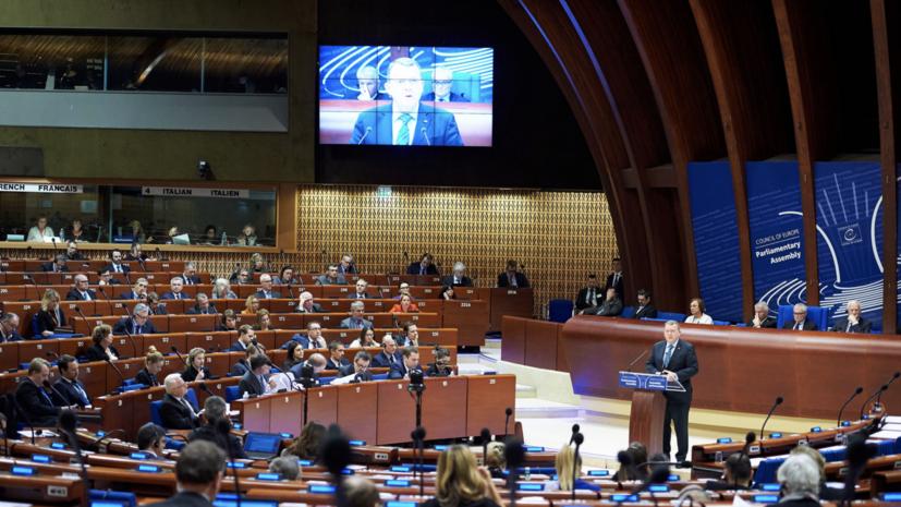 «Ложная интерпретация и неисполнимые требования»: в России оценили резолюцию ПАСЕ о последствиях войны на Украине