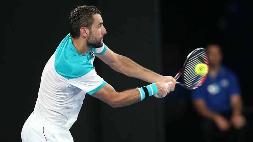 Стал известен первый финалист мужского турнира Australian Open