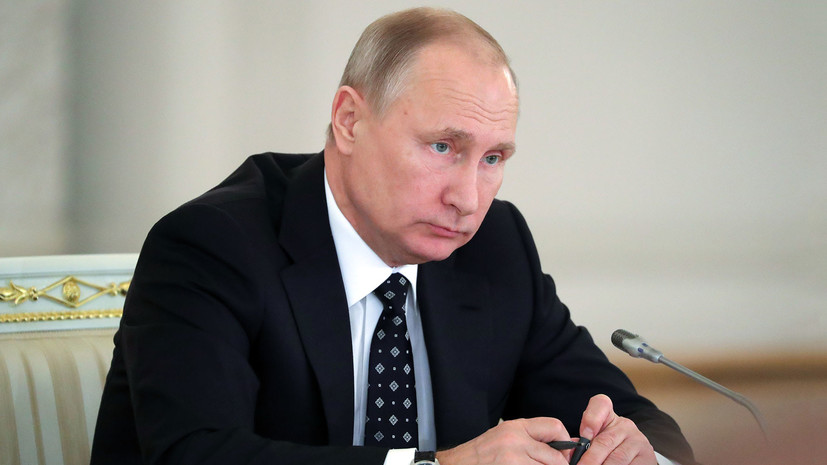 Путин назвал смерть Людмилы Сенчиной невосполнимой утратой