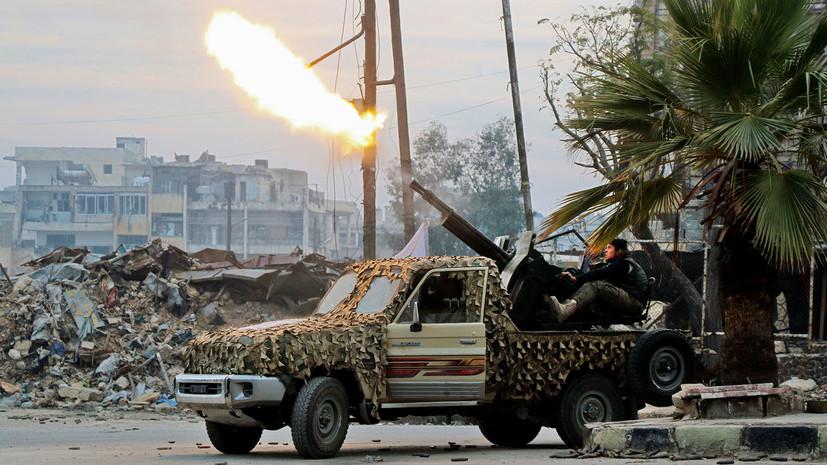 «Вышли из контролируемой США зоны»: в Сирии в районе Эт-Танф уничтожены пять боевиков