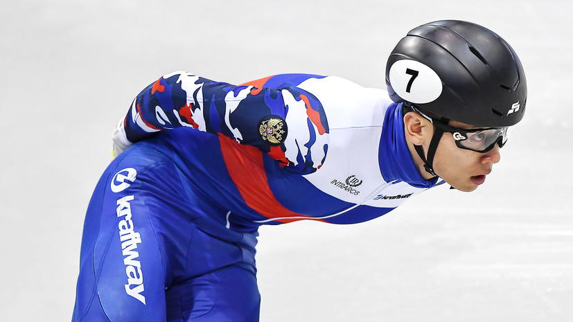Конькобежец Ан написал открытое письмо президенту МОК Баху