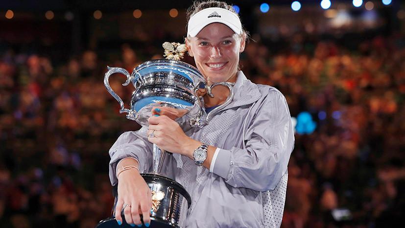 Возняцки возглавила мировой рейтинг теннисисток WTA