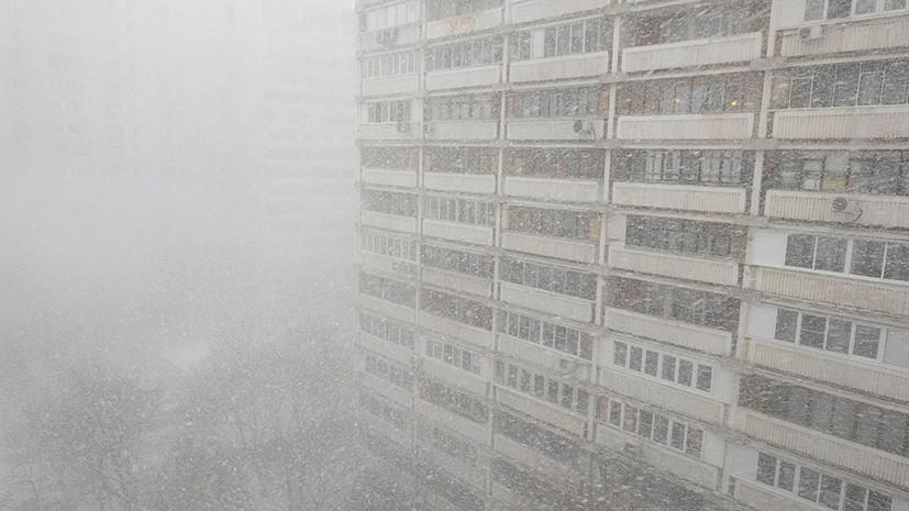 МЧС предупредило о снеге и метели 30 января в Москве