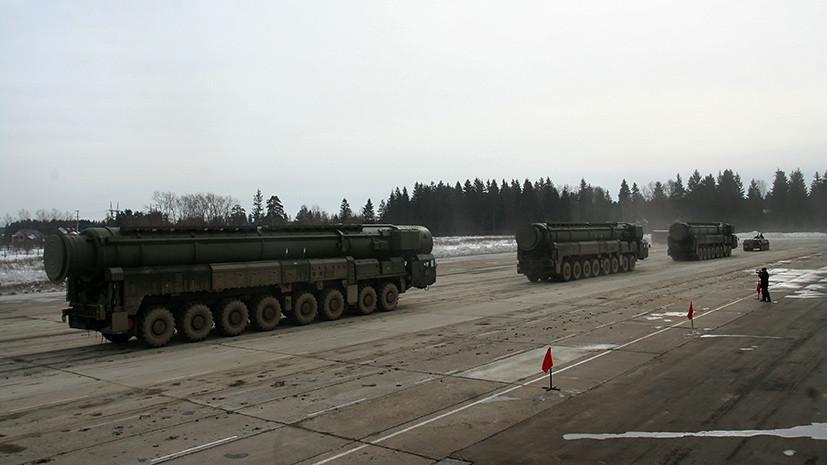 Минобороны: РВСН в 2017 году получили 21 баллистическую ракету