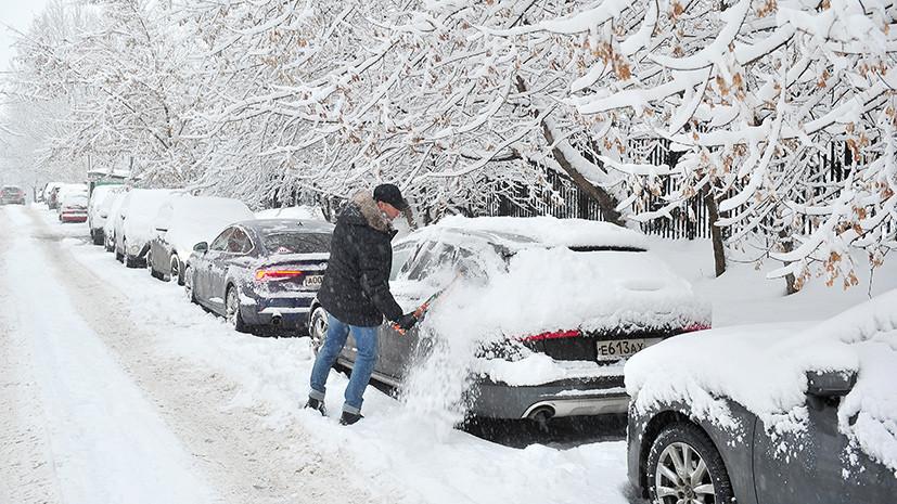 МЧС предупредило о сильных снегопадах 1 февраля в 12 регионах Центральной России