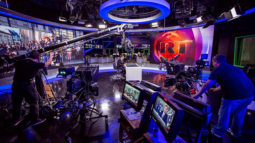 RT стал самым цитируемым в СМИ российским телеканалом в 2017 году