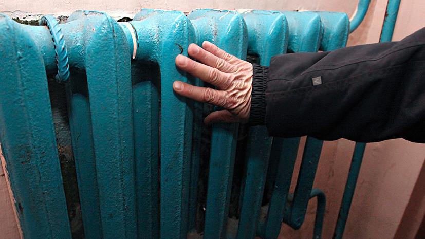 «Людям физически нечем платить»: на Украине целый город может остаться без тепла и горячей воды