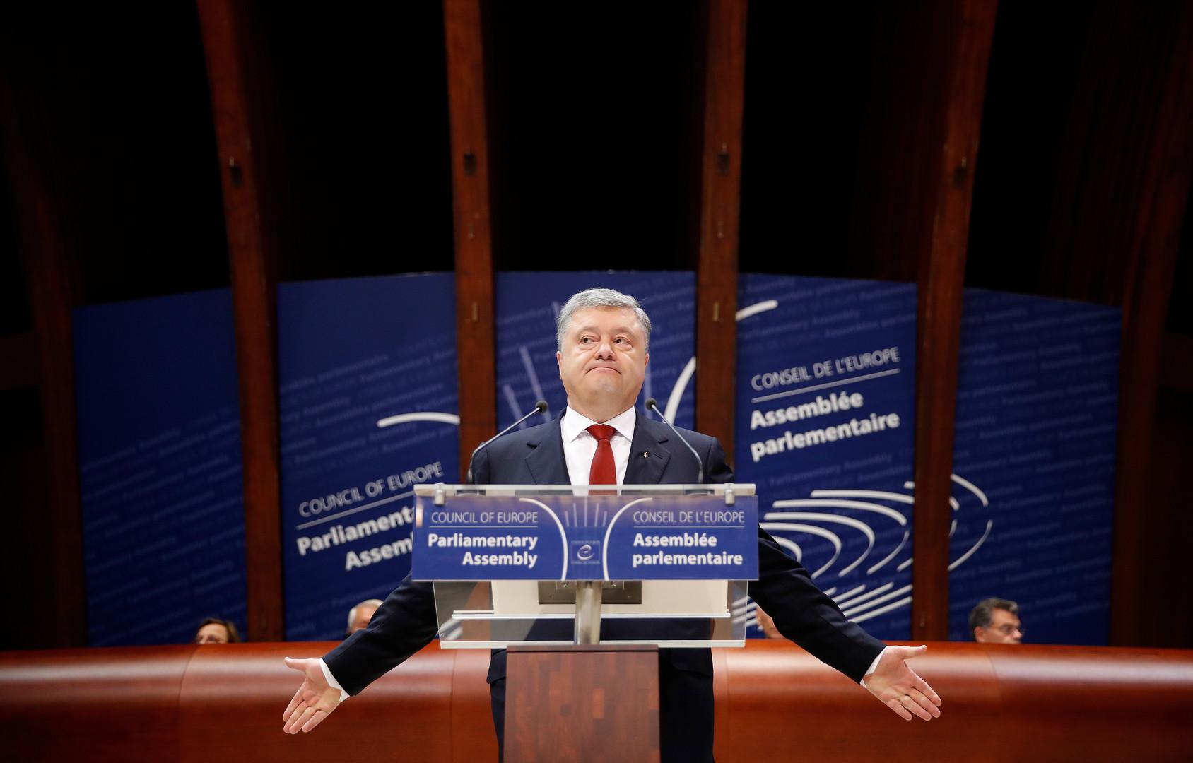 Порошенко «окончательно попрощался» сРоссией
