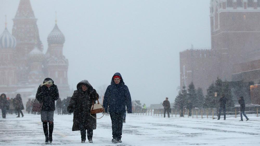 Врождественскую ночь в столицу России придут морозы иснег