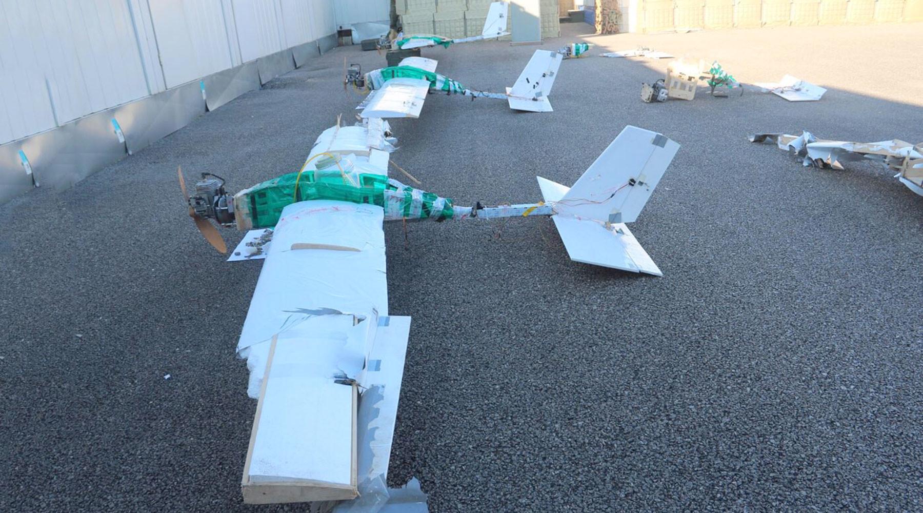 Атака дронов на российскую авиабазу Хмеймим