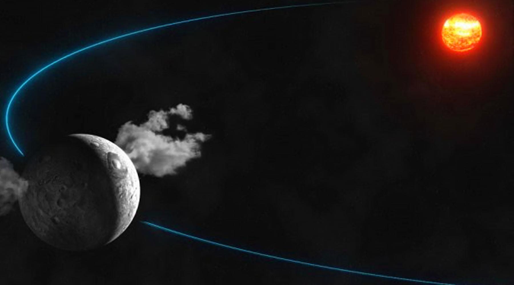 Учёные обнаружили планету с признаками примитивной жизни