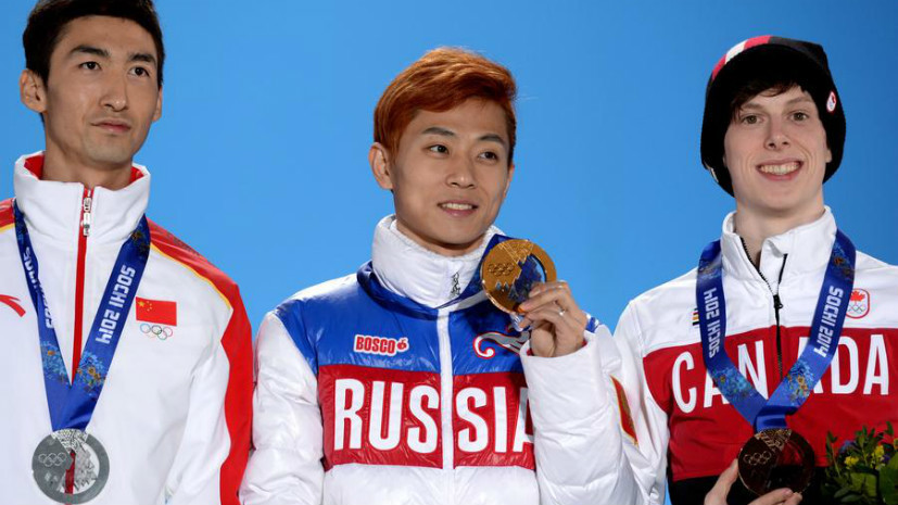 СМИ: Олимпийский чемпион Виктор Ан не допущен к участию в ОИ-2018