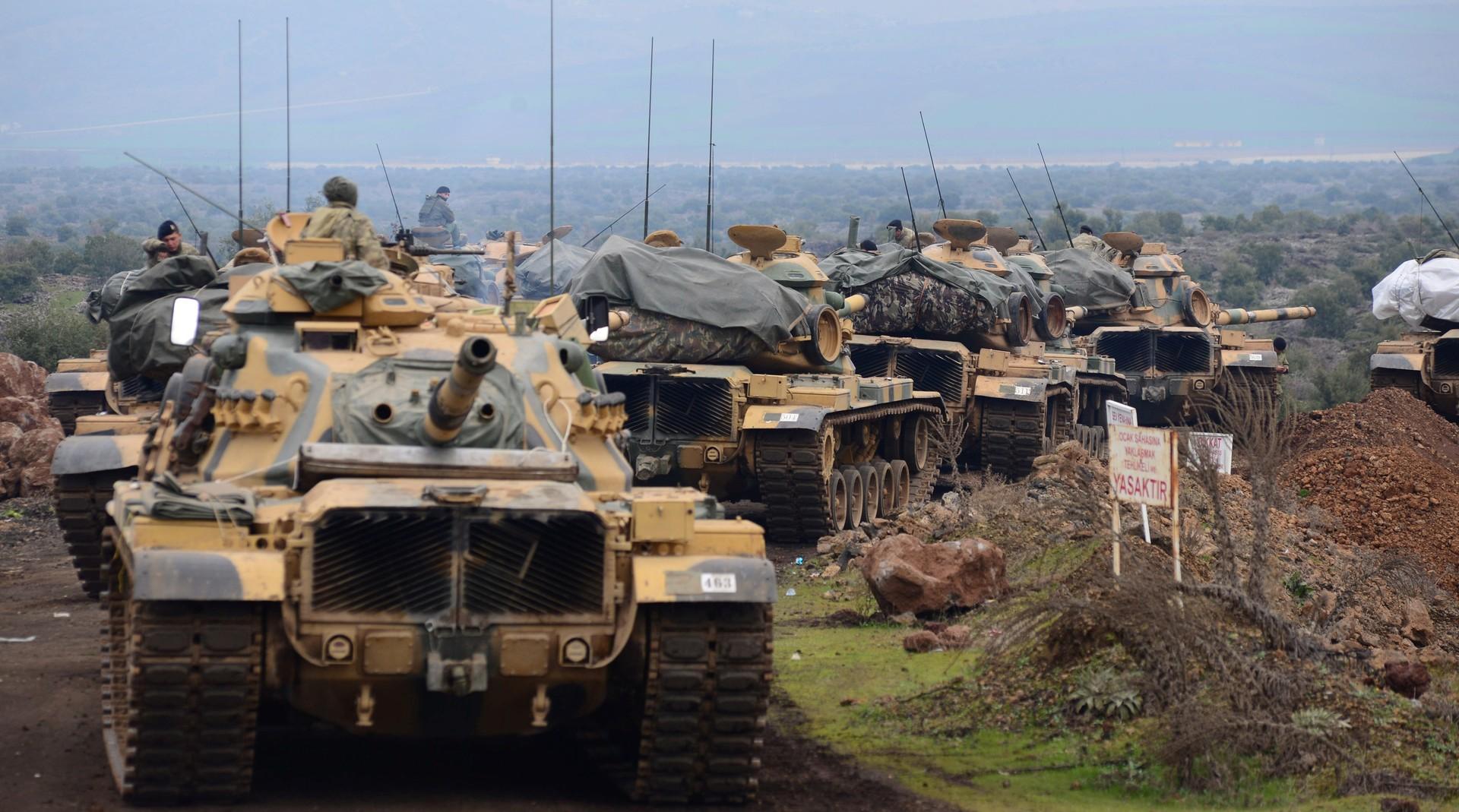 Курды Африна обратились кАсаду спросьбой озащите отВС Турции