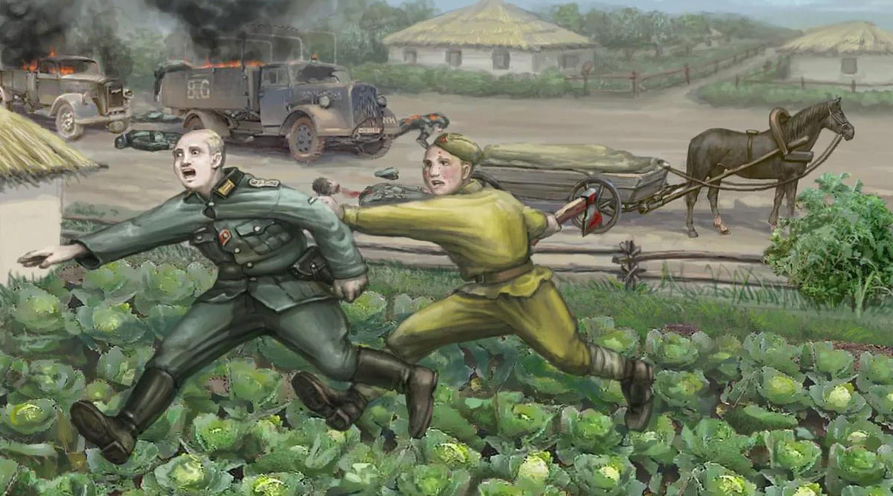 5a6c6a4d370f2cce4f8b45c9 «23 немца были убиты, остальные в панике бежали»: как советский солдат смог в одиночку расправиться с отрядом фашистов