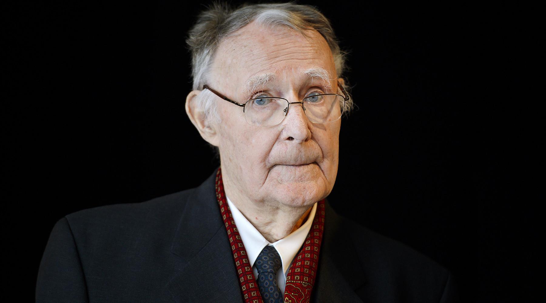 ВШвеции скончался основатель IKEA Ингвар Кампрад