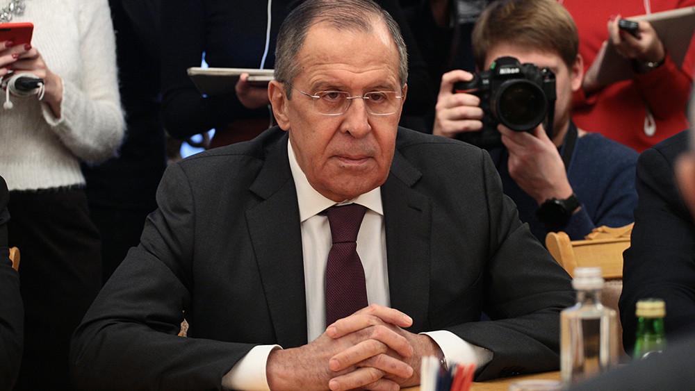 Лавров попал в «кремлёвский доклад» США