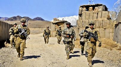Военнослужищие армии США в афганской провинции Пактия, граничащей с Пакистаном