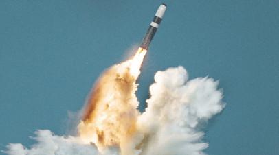 Пуск ракеты Trident