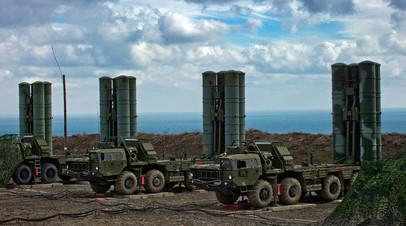 Зенитный ракетный комплекс С-400 «Триумф» в Крыму