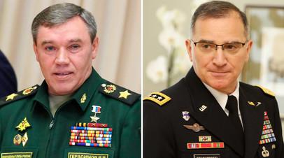 Валерий Герасимов и Кёртис Скапаротти