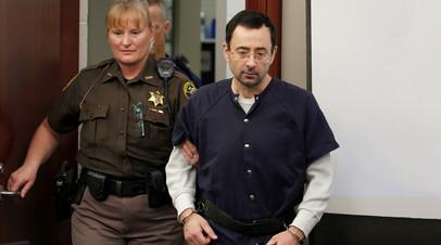 Ларри Нассар в суде