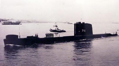Израильская подводная лодка Dakar