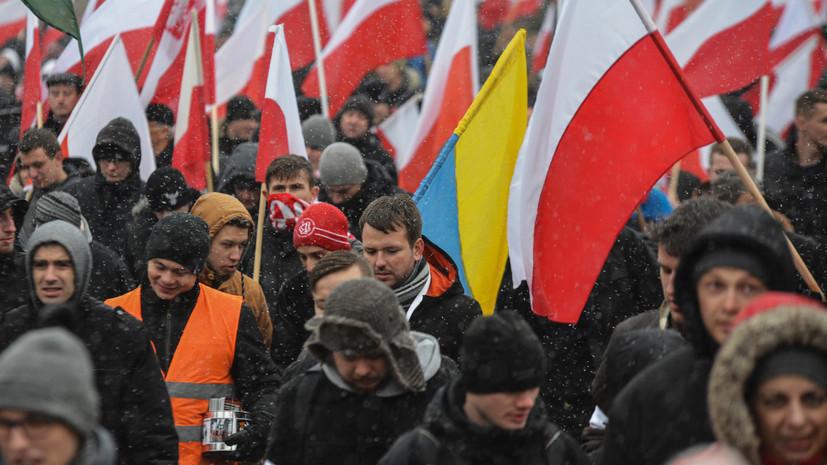 «На защите исторической правды»: сенат Польши запретил пропаганду идеологии украинских националистов
