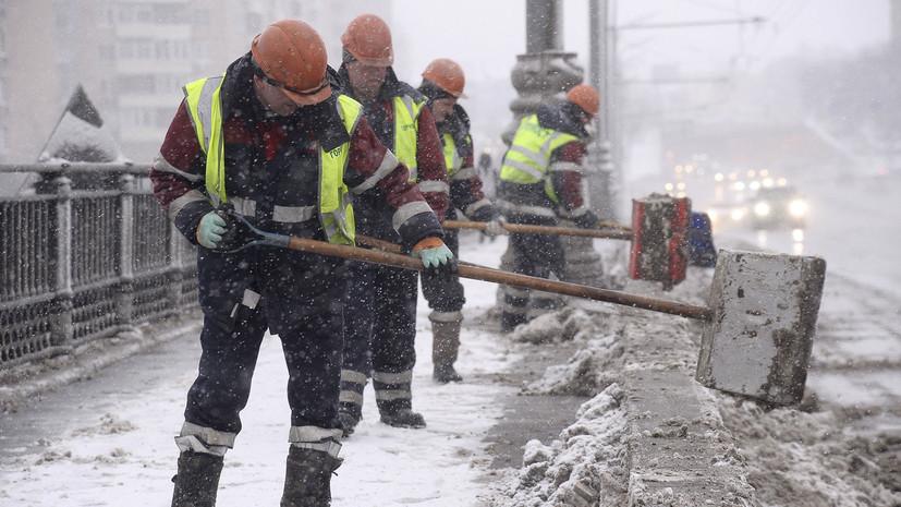 МЧС предупредило о сильном снеге и метели в Москве 3 февраля