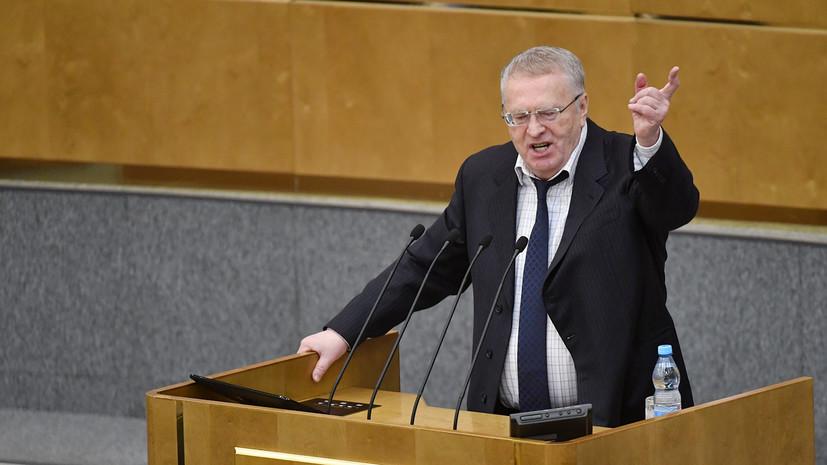 Жириновский выступил за переименование Волгограда в Сталинград