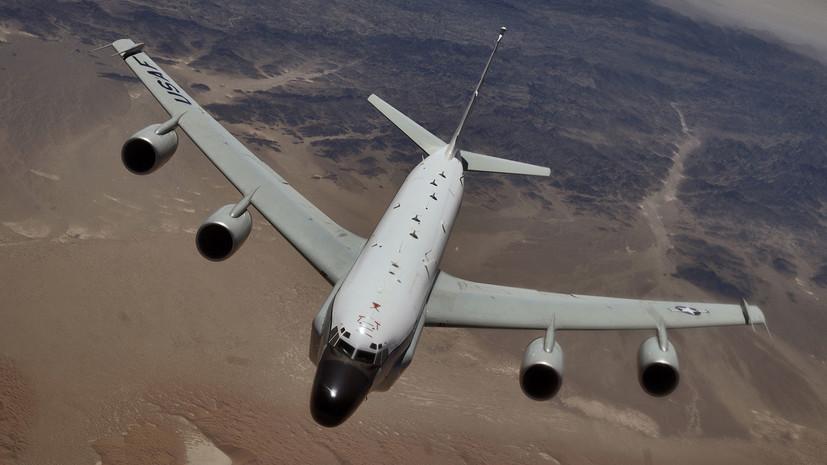 Американские самолёты-разведчики вновь замечены у границ России