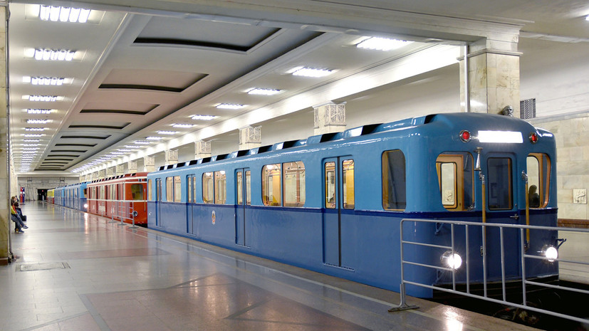 Движение поездов на Филёвской линии введено в график после нагревания контактного рельса