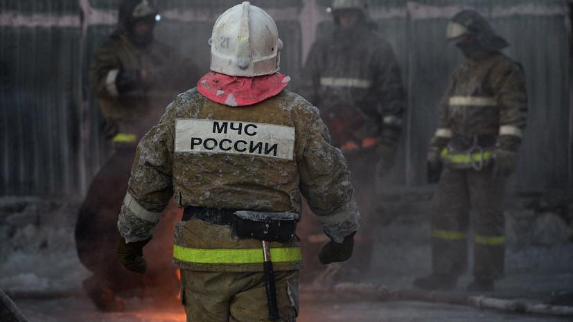 МЧС: четыре человека спасены при пожаре в жилом доме на юго-востоке Москвы